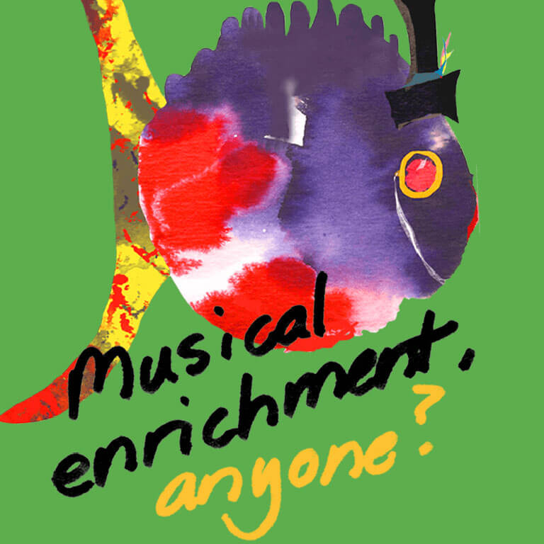 MUSICAL ENRICHMENT,  ANYONE?
