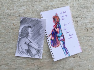 Busking Drawings